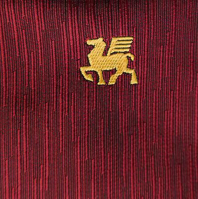 Pegasus tie Club company corporate tie Winged horse emblem logo Vintage c 1960s