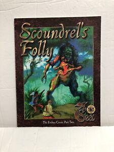 7TH-SEA-RPG-Scoundrel-s-Folly-Book-1999-AEG-NEW-UNREAD