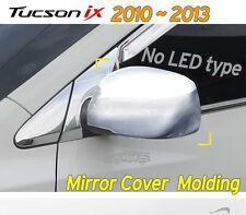 Chrome Side Mirror Cover Molding 2P K350 For Hyundai 2010-2013 Tucson ix , ix35