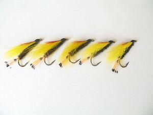 5 X  Butcher Trout//Salmon on Size 8 Long Shank Hooks