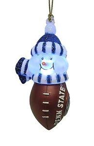 Penn State Nittany Lions LED Football Snowman Light Up 3 ...
