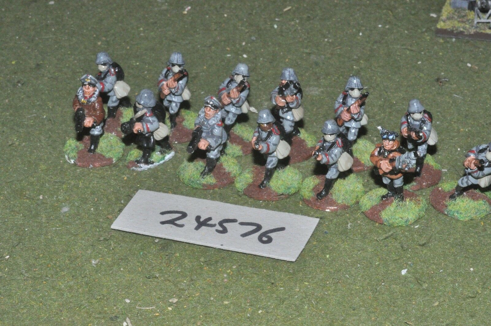 28mm WW1   german - platoon 13 figures - inf (24576)