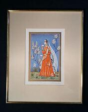 Incantevole Litografia A Colori 1001 Notte Orientalismo Anne Kristin Schaller 39