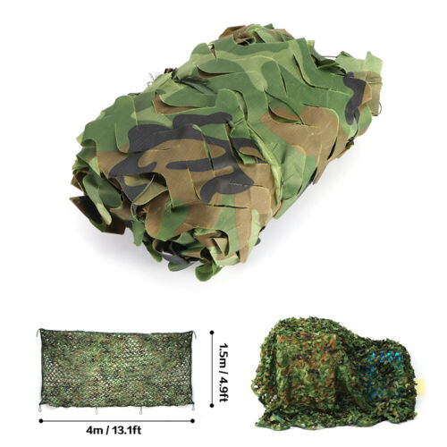 Camouflage Jagd Tarnnetz Jagd Armee Army Tarnung Camo Hunter Netz Dekorarnung