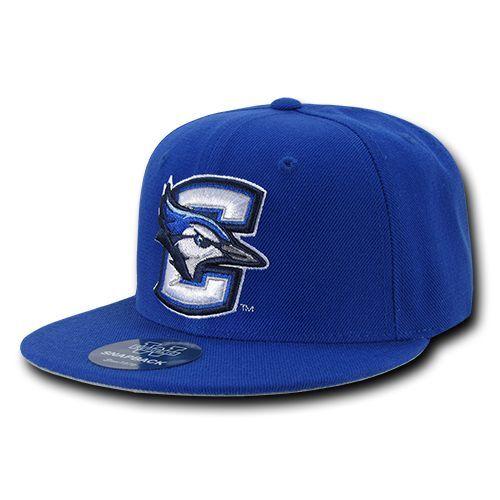 Creighton University Geais Jays NCAA Fitted Flat Bill Baseball Cap Hat