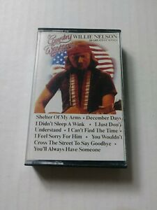 Country-Western-Willie-Nelson-20-Greatest-Songs-Cassette-Tape