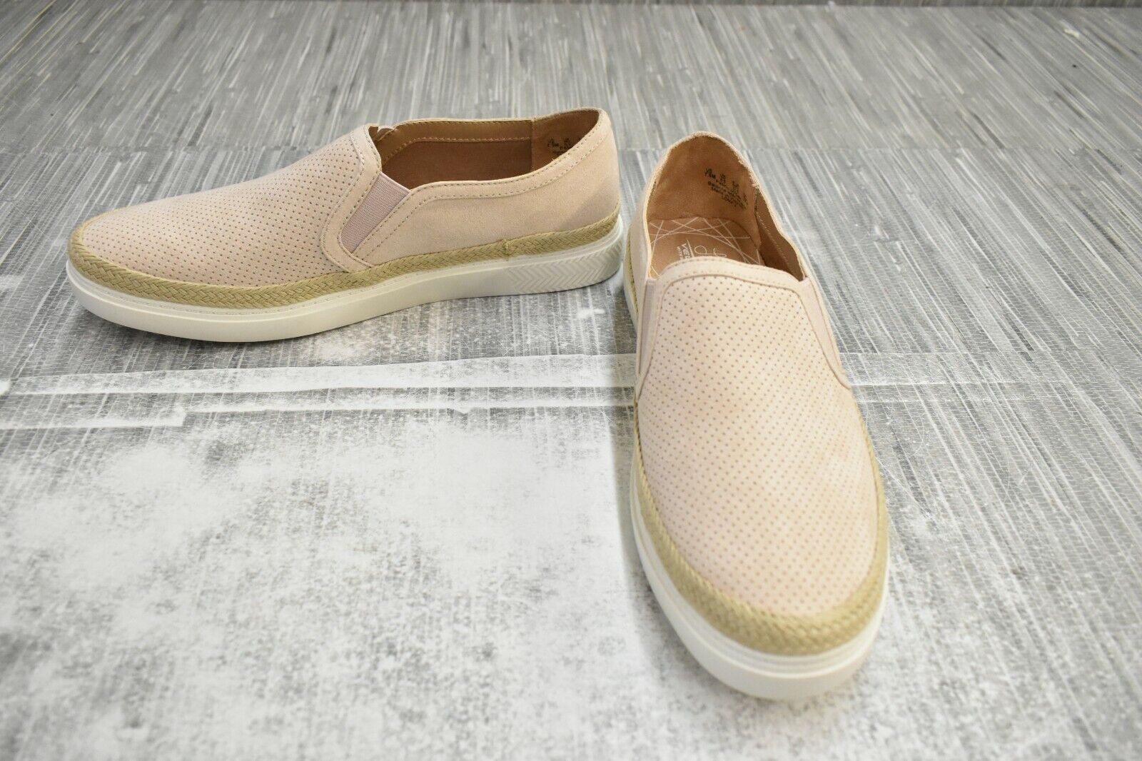 ** LifeStride Loma 2 À Enfiler Confort Chaussures-Femme Taille 7.5 M, Taupe Neuf