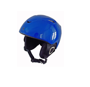NEW ALPINE STAR H02 KIDS  HELMET GLOSSY blueE SMALL MEDIUM HEAD PredECTION GEAR  authentic quality