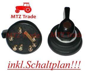 blinkerschalter f r traktor schlepper bagger oldtimer. Black Bedroom Furniture Sets. Home Design Ideas
