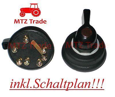 Blinkerschalter für Traktor Schlepper Bagger Oldtimer Universal RS 09 ZT IHC MF