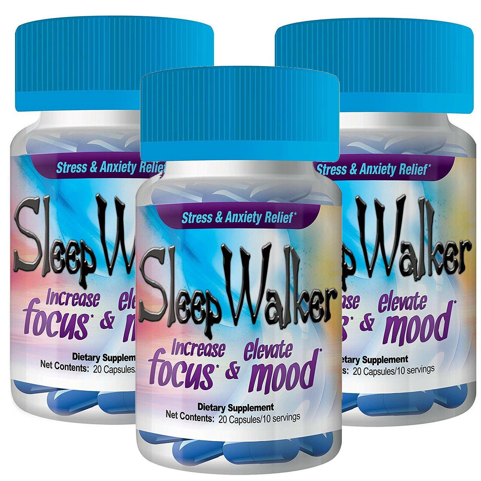 Sleep Walker Capsules 60 Pills (3 Bottle…