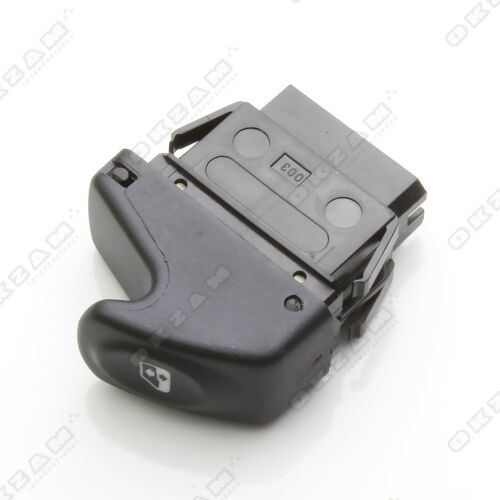 ELECTRIC WINDOW CONTROL SWITCH BUTTON BLACK FOR RENAULT MEGANE I 1