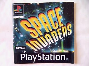 58307-Instruction-Booklet-Space-Invaders-Sony-PS1-Playstation-1-1999-SLES