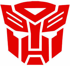 "TRANSFORMERS G1 AUTOBOT Car or Wall Decal Sticker, Highest Quality, 7.5"" X 7"""