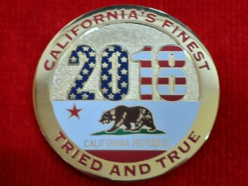 CHP LAPD POLICE CALIFORNIA HIGHWAY PATROL 2018 CHALLENGE COIN
