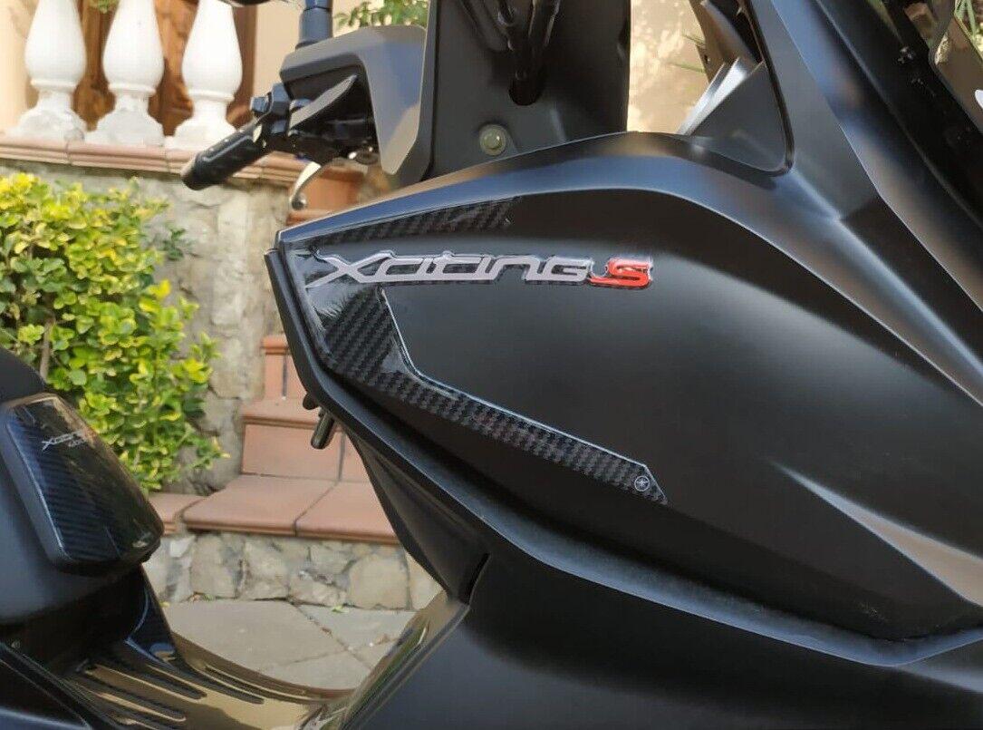 2 ADESIVI in GEL 3D COPPIA SCRITTE XCITING S compatibili per Scooter KYMCO 400i