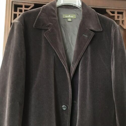 Ermenegildo Zegna Luxury Men's Corduroy Jacket Bla