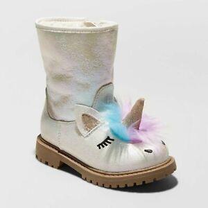 Cat \u0026 Jack Toddler Girl Fashion Boots 5