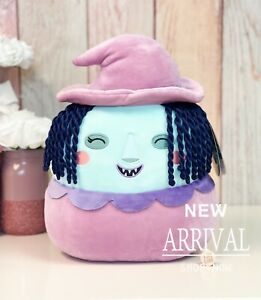 """Squishmallow Disney's Nightmare Before Christmas 12"""" Shock the Witch NEW HTF"""