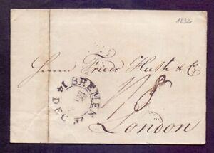 Vorphilabrief-Altbrief-Bremen-1832-mit-Schluessel-Stempel-nach-London-056