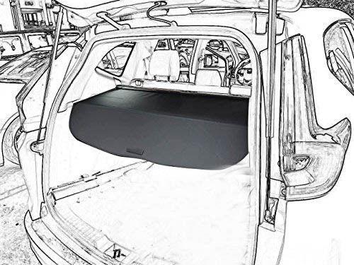 For 2017-2020 HONDA CR-V CRV REAR TRUNK CARGO COVER SECURITY SHADE SHIELD BLACK