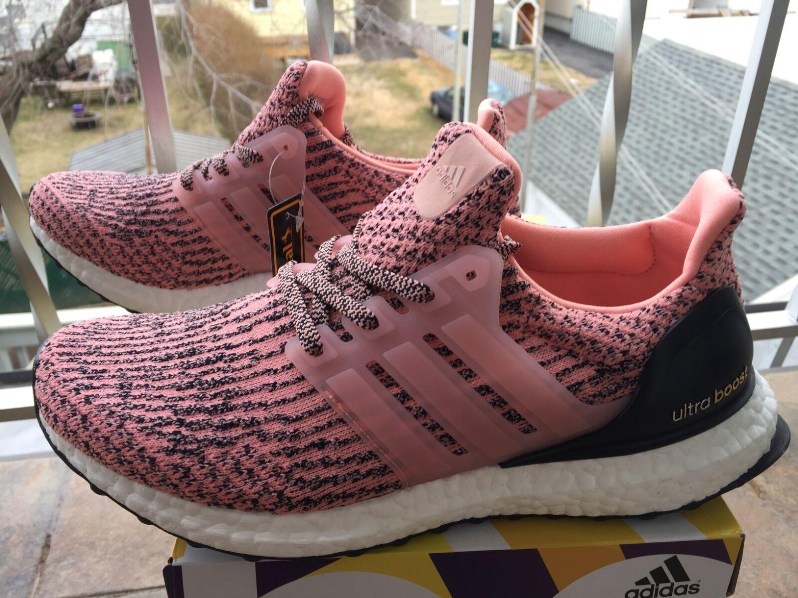 "2018 Adidas Ultra Boost  Women Running ""SUN GLOW"" Salmon Pink S80686"