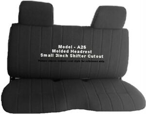 Fine Details About Custom Fit Triple Stitched Thick Small Pickup Truck Bench Black Seat Cover Squirreltailoven Fun Painted Chair Ideas Images Squirreltailovenorg