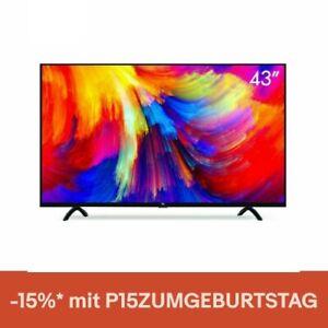 Xiaomi Mi Smart TV 4S 43 Zoll LED-TV 4K 1080P HD, Triple Tuner, Android TV 9.0