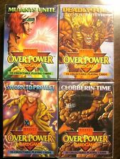 OVERPOWER Sworn To Protect+ Mutants Unite+ Deadly Foes+ Clobberin' Time (SEALED)