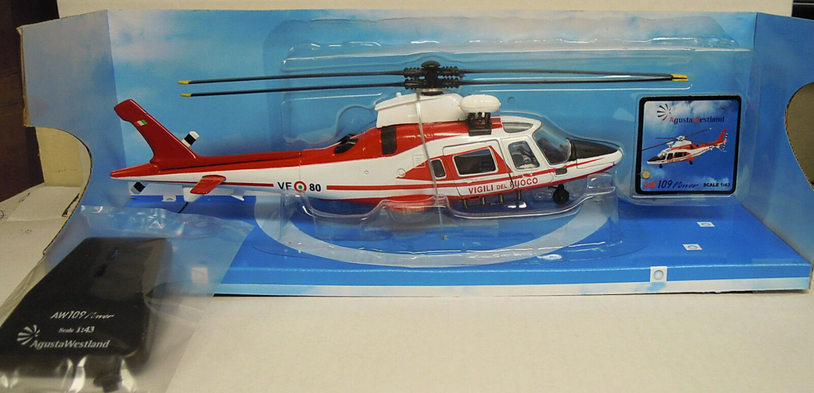 New Ray 25923 Agusta A119 Koala NYPD Helicopter