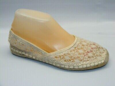 JCP Women Size 8.5 M Ivory Lace Fabric