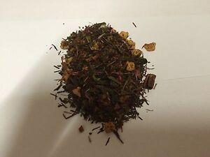 100g Zimt Pflaume Tee Grüner Tee Grüntee Tea nat. aromat.