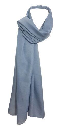 New Plain Hijab// Scarf// Shawl//Wrap Large Size Lightweight Soft Beautiful Colors