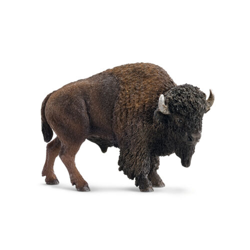 """/"""" Buffalo/"""" #schleich Nuovo con banderuole-NEW with tag!!! /""""Bison/"""" 14714"""