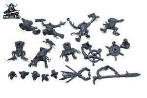 Warhammer-Ogre-Kingdoms-Scrap-Launcher-Ironblaster-Gnoblar-Crew-Bits-BIN30