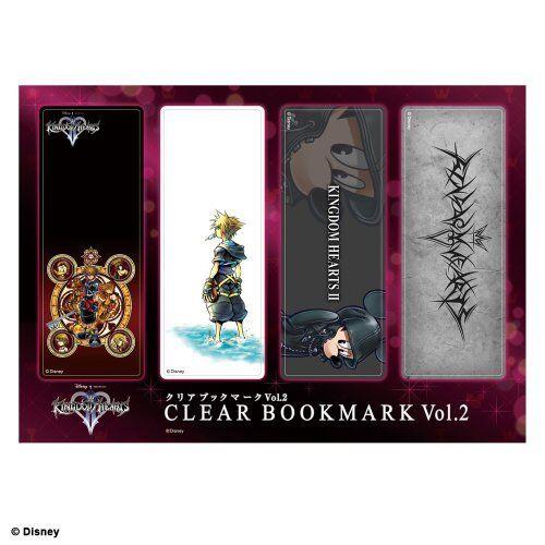 SQUARE ENIX KINGDOM HEARTS II clear bookmark Vol.2