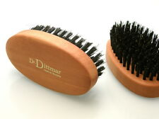 Dr.Dittmar GROßE Bartbürste oval Naturborsten Birnbaumholz hart Germany