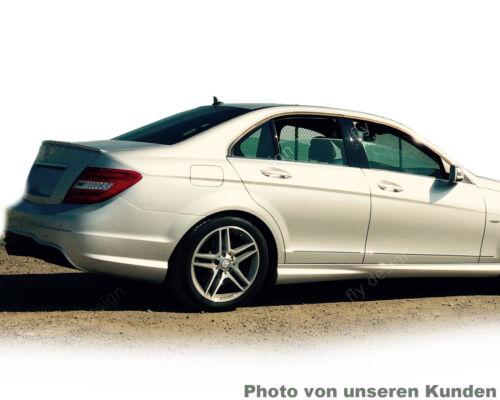 Mercedes W204 Spoiler AMG Tuning Rear Spoiler Boot Lip Calcite White 650