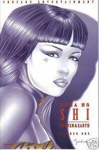 SHI: HEAVEN & EARTH #1 VARIANT TORA NO SHI VF (Crusade, 1997) Original ComB