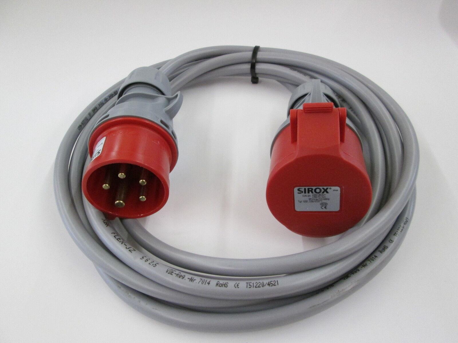 CEE 32A Verlängerungskabel-Flexibel -.JZ -.JZ -.JZ 5X2,5 mm² Starkstromkabel  | Bestellungen Sind Willkommen  1d9152