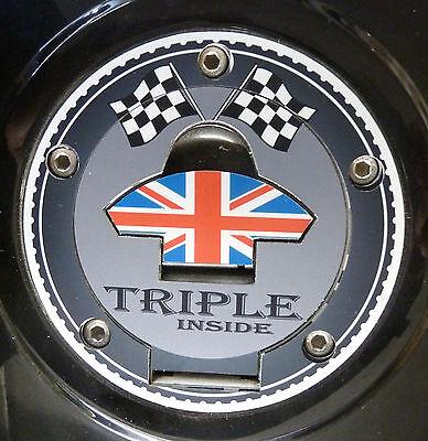 Tank gas cap cover Triumph Trident Sprint Speed Triple Daytona Trophy 750 900