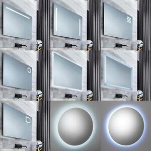 Specchio Bagno Retroilluminato Prezzi.Specchio Led Bagno Retroilluminato Tenuta Stagna Adatto Ad