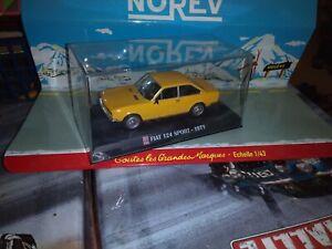 AUTO-PLUS-1-43-FIAT-124-SPORT-1971-NEUF-EN-BOITE