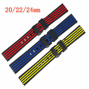 20-22-24mm-Watch-Strap-Silicone-Band-Diver-Replacement-Bracelet-Quick-Release