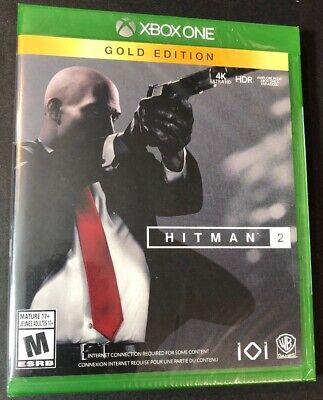 Hitman 2 Gold Edition Xbox One New 883929649488 Ebay