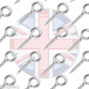 VITE-Eye-Pin-10mm-x-5mm-Foro-2-0-mm-Gioielli-Making-Craft-UK-Venditore