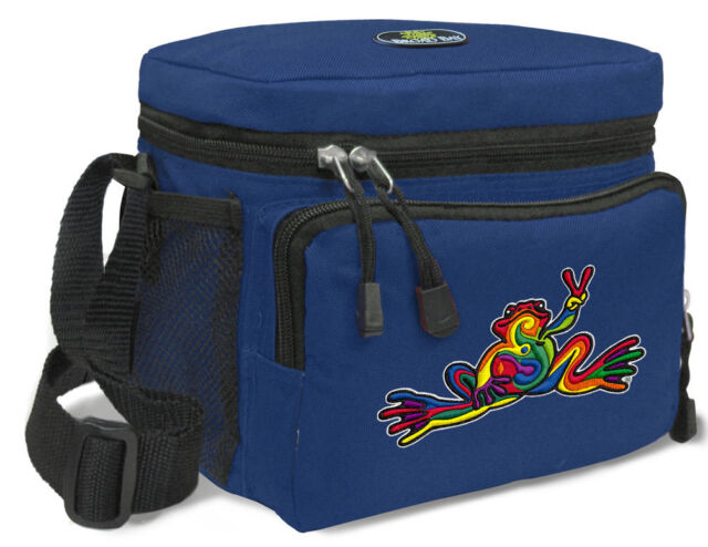 COOL Peace Frog Lunch Bag Tote BEST Lunch Box Cooler WELL MADE!