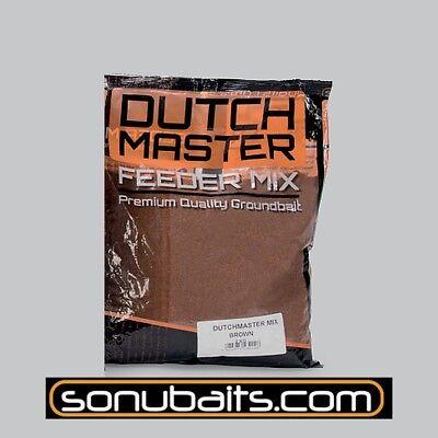 """2kg/"""" sonubait DUTCH MASTER FEEDER marron /""""Aliments pour Gardons le 6,75 EUR//KG"""