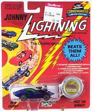 Johnny Lightning Commemorative Vicious Vette Dark Blue Series J 1993 MOC