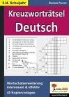 Kreuzworträtsel Deutsch 3.-4. Schuljahr von Daniela Feurer (2013, Taschenbuch)